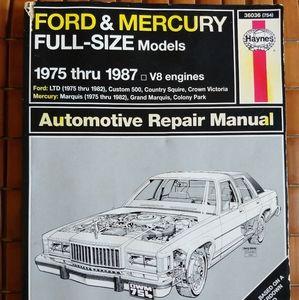 Vintage Haynes Auto Repair Manual